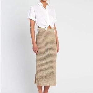 6b70787d7306 sir the label Skirts | Edie Midi Skirt | Poshmark